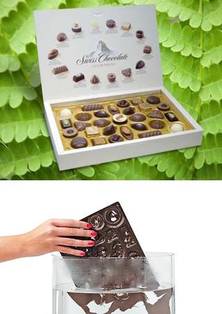 Пластиковый трей для шоколадных конфет