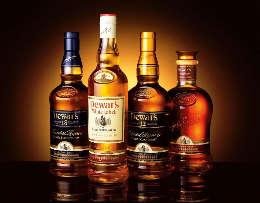 Виски Dewars до рестайлинга