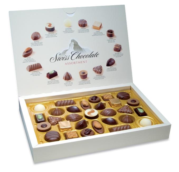 Коллекция швейцарского шоколада