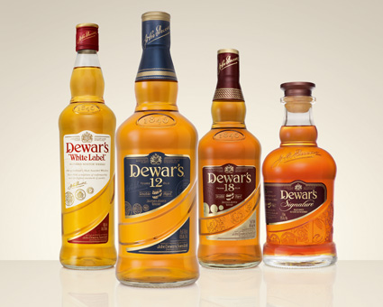 Виски Dewars после рестайлинга