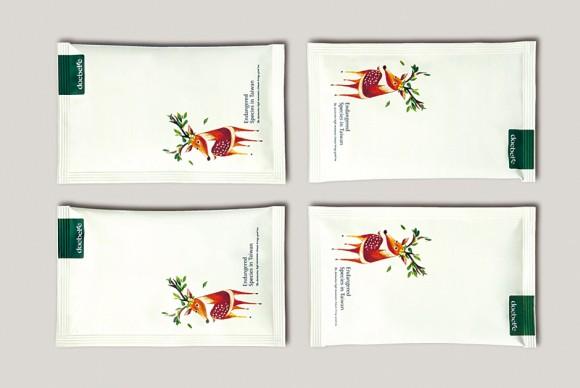 саше для чая с иллюстрациями
