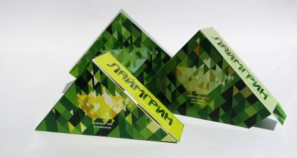 Упаковка чая Лаймгрин