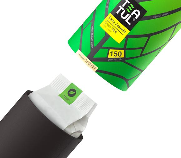 Упаковка чая Teatul