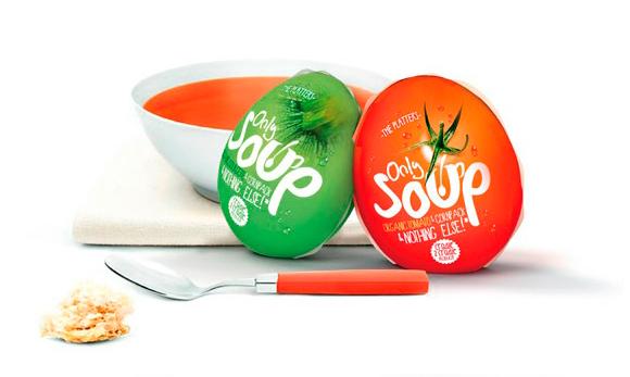 съедобная упаковка супа