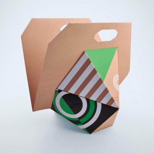 упаковка сложной геометрической формы