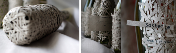 Упаковка французского вина Soshette