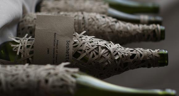 Упаковка французского вина