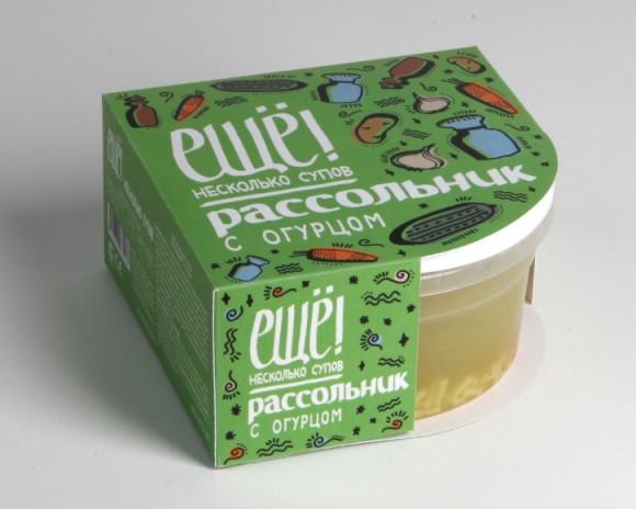 Упаковка готовых супов Еще