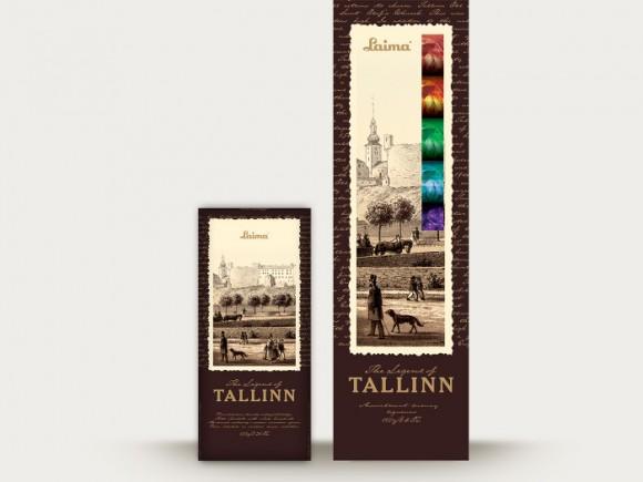 шоколад The Legend of Tallinn