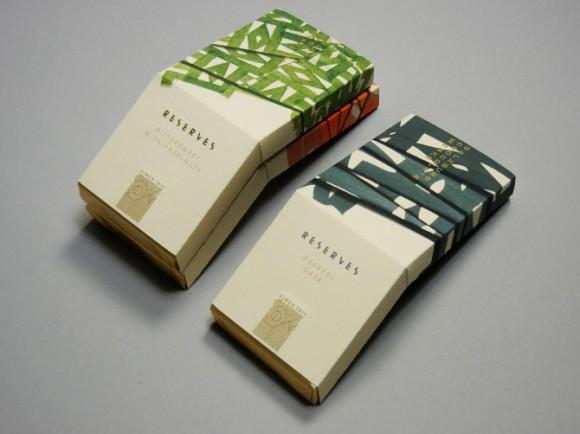 Упаковка шоколада необычной формы