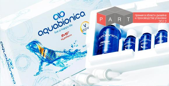 Упаковка воды Aquabionica