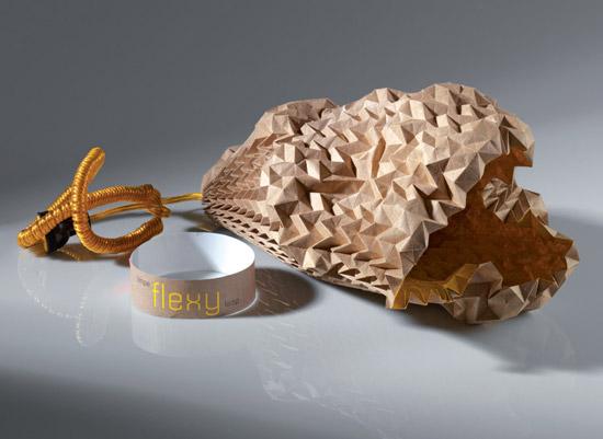 светильник из картона – экологический концепт