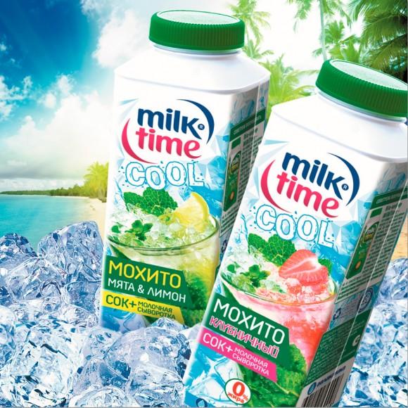 упаковка напитка Мохито MilkTime Cool