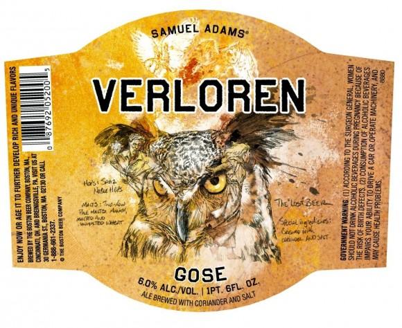 этикетка пива Verloren