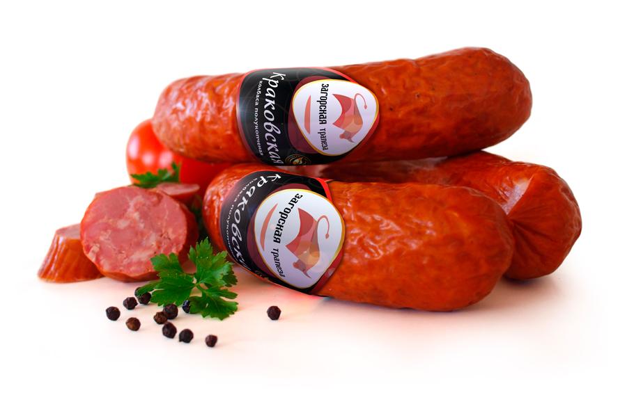 упаковка колбас Загорская Трапеза – ребрендинг