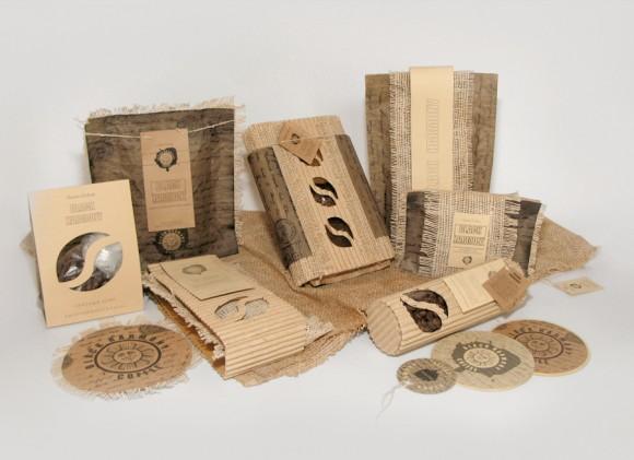 упаковка кофе – hand-made