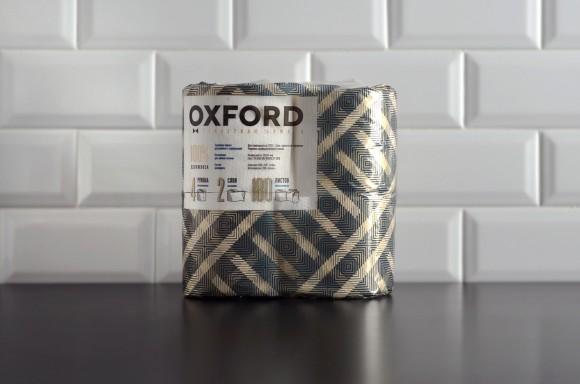 дизайн упаковки туалетной бумаги Oxford