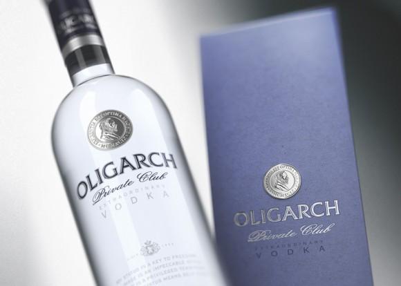 Водка OlIGARCH – дизайн упаковки STUDIOIN