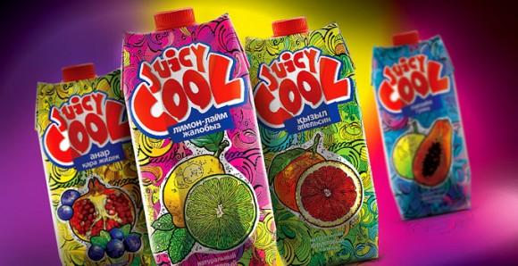 упаковка соков Juicy Cool