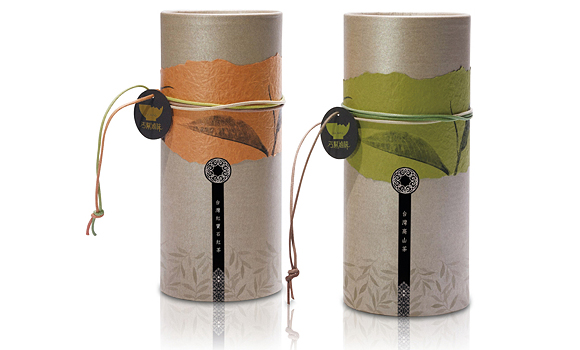 упаковка чая – тубусы