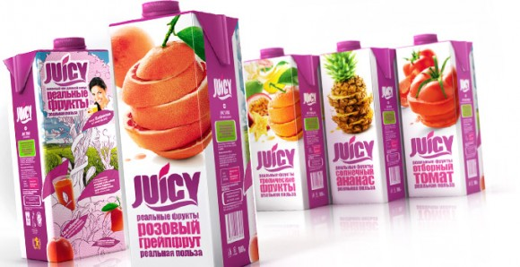 упаковка соков Juicy