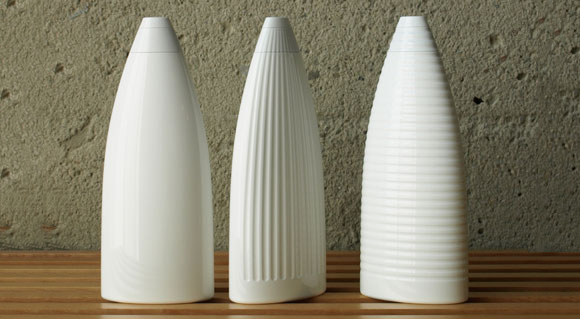 упаковка шампуня – бутылки необычной формы