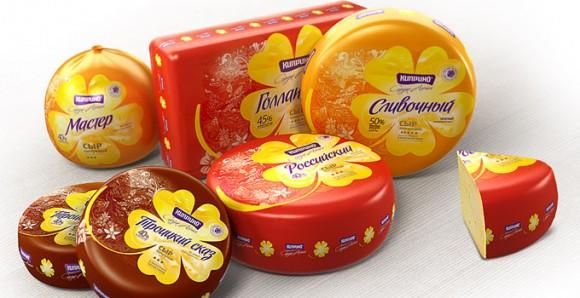 упаковка сыра Киприно