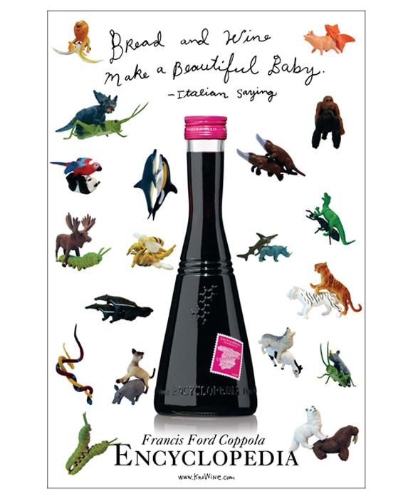 рекламный постер Wine Encyclopedia