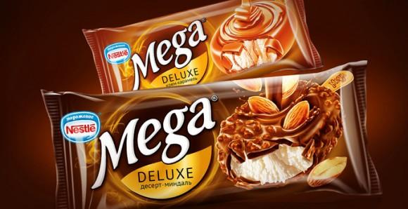 упаковка мороженого Mega - Nestlé