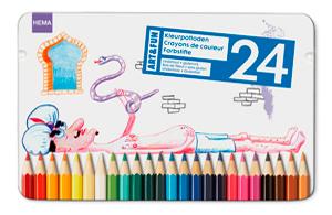 Дизайн упаковки карандашей и фломастеров