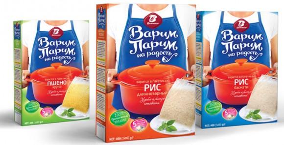 упаковка круп Варим-Парим – Воложка