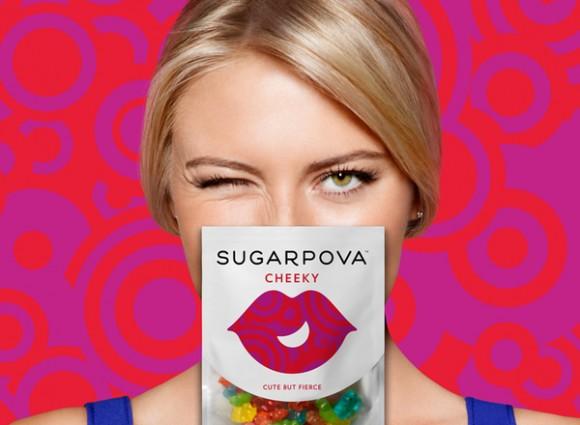 упаковка жевательных конфет Sugarpova – линия Марии Шараповой