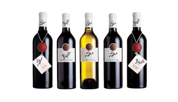 упаковка вина Yatir Winery – студия Baruch Nae, Израиль
