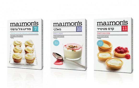 Упаковка продуктов для выпечки – агентство Blend-It, Израиль