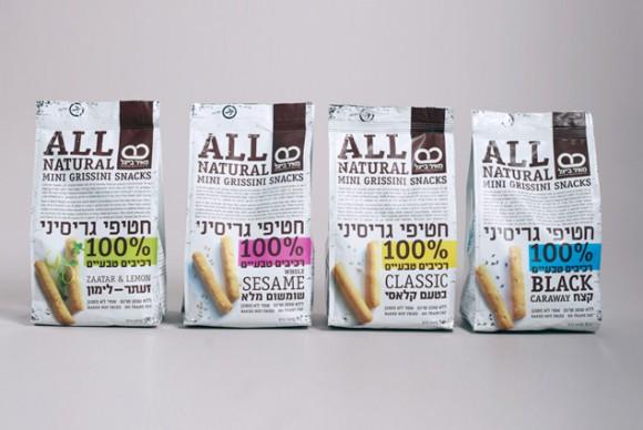 упаковка снэков Meir Beigel– агентство Blend-It, Израиль