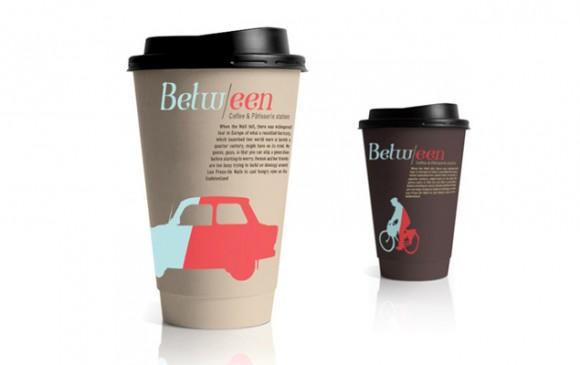 упаковка для Between cafe – агентство Blend-It, Израиль