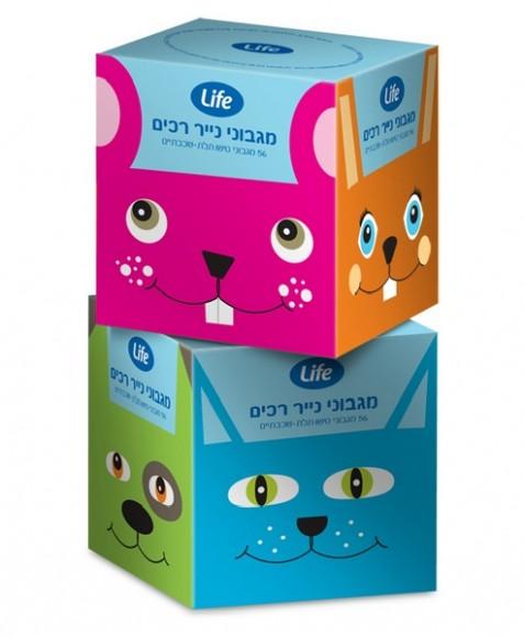 упаковка детских салфеток – агентство Sadowsky Berlin, Израиль