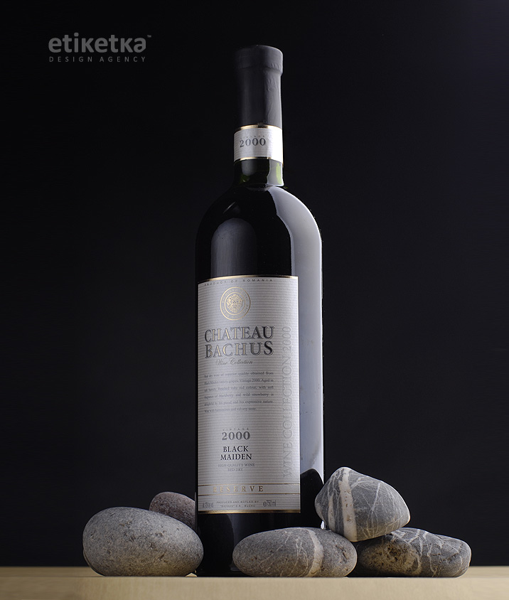 Упаковка вина Chateau Bahus – дизайн-агентство Etiketka