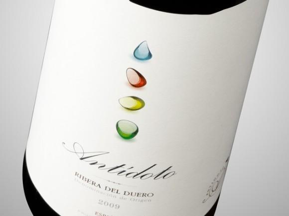 Этикетка вина Antidoto – агентство Calcco, Испания