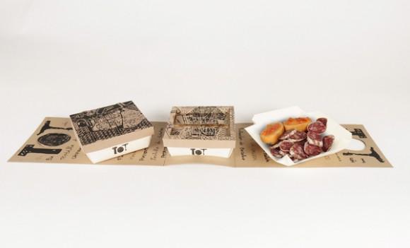 упаковка take-away для испанских закусок