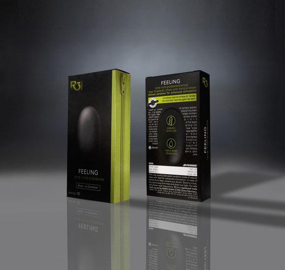 Упаковка презервативов – агентство Adlai&Partners, Израиль