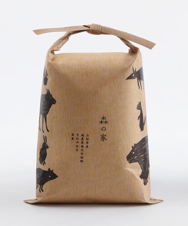 Японская упаковка – крафтовые пакеты