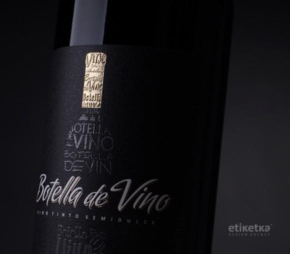 Упаковка вина Botella de vino – дизайн-агентство Etiketka