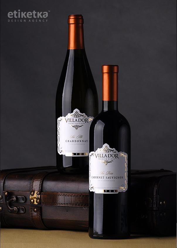 Упаковка вина Villador – дизайн-агентство Etiketka