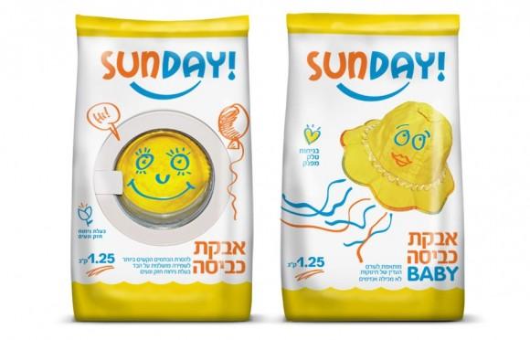 Упаковка чистящих средств Sunday – агентство Sadowsky Berlin, Израиль