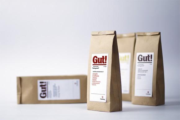 Упаковка чая Gut – Plenum Brand Consultancy