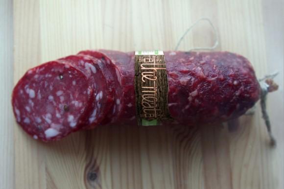 Концепт этикетки колбасы The meat – Александра Истратова