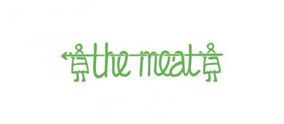Логотип колбасы The meat – Александра Истратова