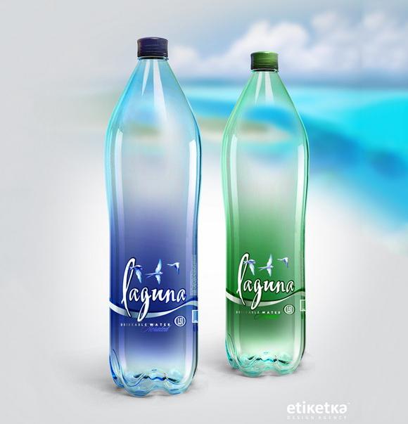 Упаковка воды Laguna – дизайн-агентство Etiketka