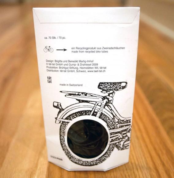 упаковка канцелярских резинок Plattfuss – компания tat tat